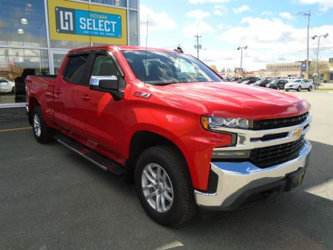 New 2019 Chevrolet Silverado 1500 New Crew Cab 4x4 LT / Standard Box Four Wheel Drive Pick up