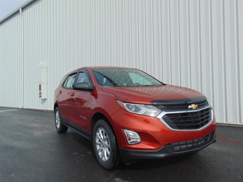 New 2020 Chevrolet Equinox AWD LS 1.5t All Wheel Drive SUV - Demo