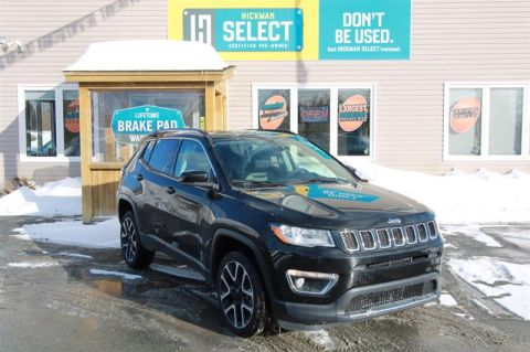 Pre-Owned 2018 Jeep Compass 4x4 Limited Four Wheel Drive SUV